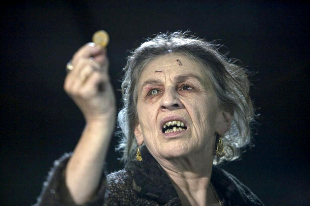 Beware Angry Old Women With Coins