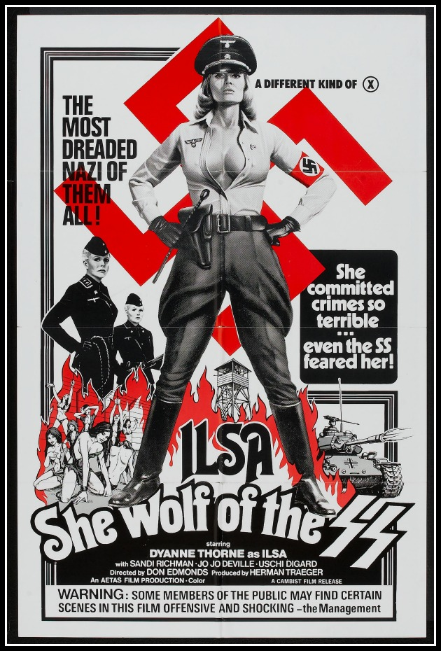 The Daily Grindhouse: Ilsa, She Wolf of the SS (dir  by Don