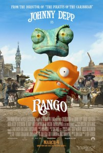 "Movie Poster for the Film ""Rango"""