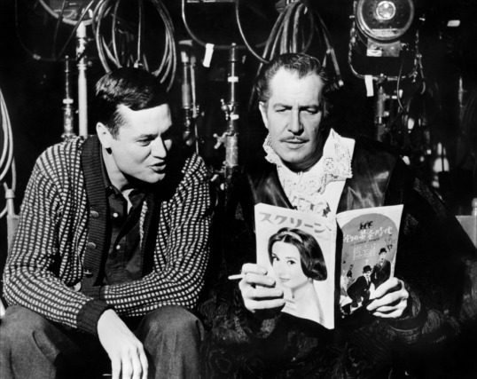 Roger Corman and Vincent Price