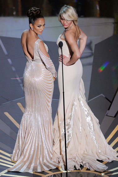 Lisa and Evelyn at the Oscars