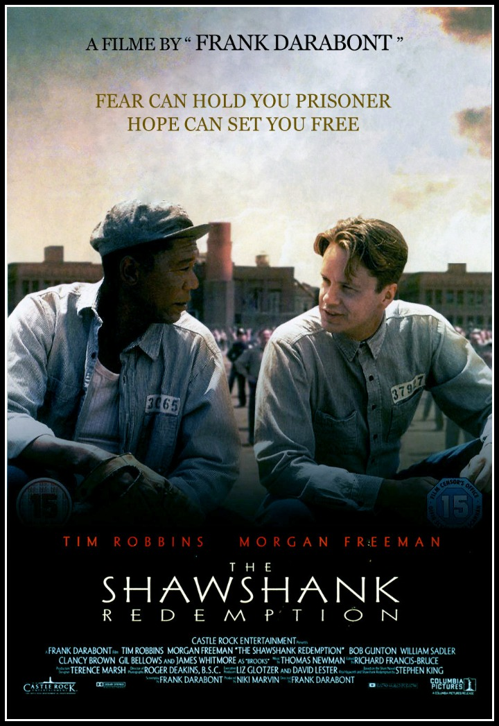 a review of the movie shawshank redemption by frank darabont About a month before the shawshank redemption was released in theaters, director frank darabont showed the film to a crowd of film students at nyu.