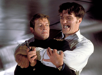 James Bond and Jaws