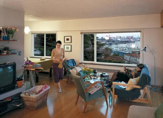 Jeff Wall -- A View From An Apartment