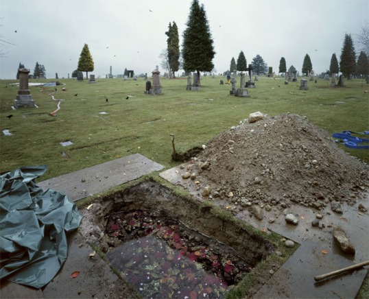 Jeff Wall -- The Flooded Grave