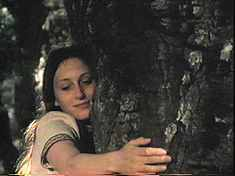 Sheila Hugging A Tree