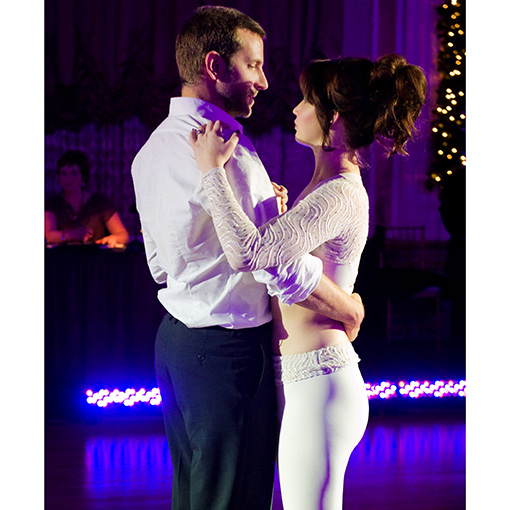 SILVER LININGS PLAYBOOK (2012) BRADLEY COOPER and JENNIFER LAWRENCE