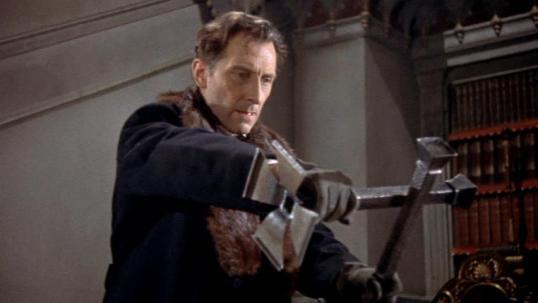 Peter Cushing as Dr. Van Helsing