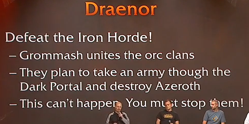 how to get to draenor fro shattratch city