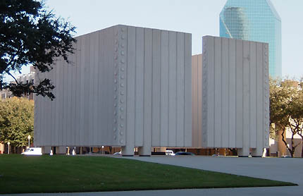 The Kennedy Memorial in Downtown Dallas