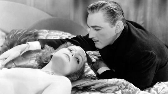 Barrymore and Garbo