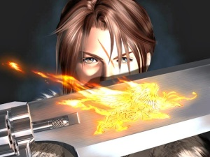 Squall is one hell of  a fighter. But what the hell is his problem?