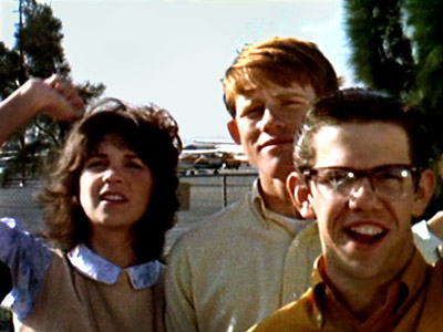 Cindy Williams, Ron Howard, and Charles Martin Smith