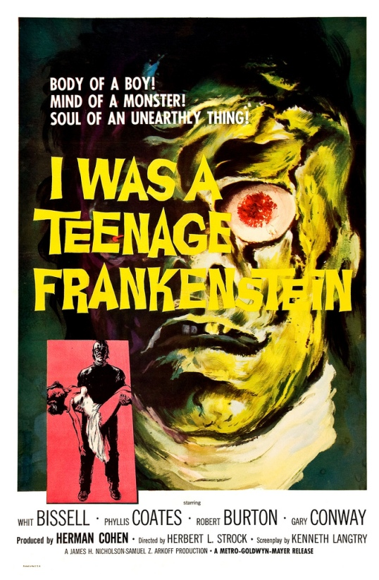 I Was A Teenage Frankenstein