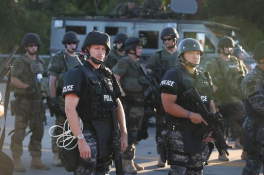 Thought Police or the Ferguson PD?
