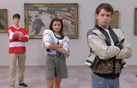 Ferris, Sloane, and Cameron