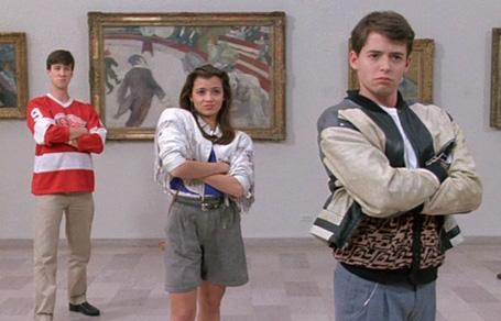Ferris, Sloane, and Cameron