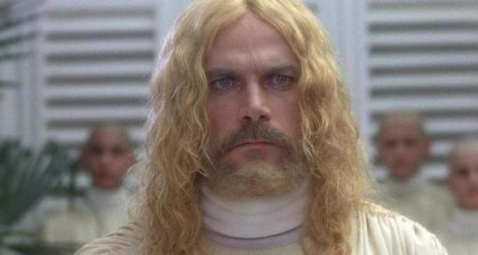Franco Nero as Jesus in The Visitor