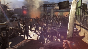 Dying Light will have you facing against hordes of zombies, but so far, I haven't seen any that are this big.