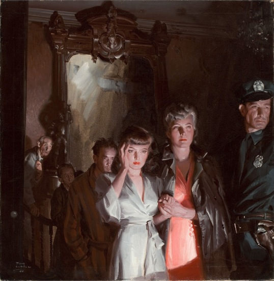 1-Tom Lovell - Evacuated At Night