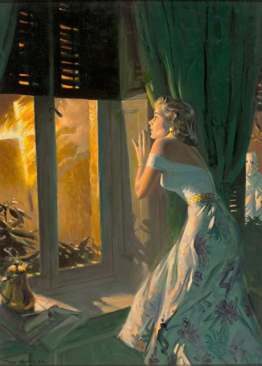 Tom Lovell - Fire Outside the Window