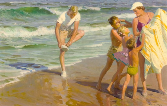 xTom Lovell - The Beach