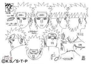 Studio Pierrot sketches for Nagato 3