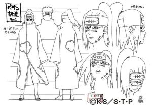 Studio Pierrot sketches for Nagato 4