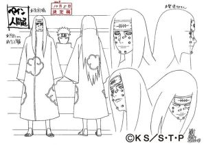 Studio Pierrot sketches for Nagato 5