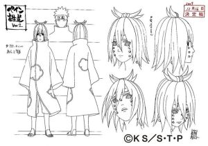 Studio Pierrot sketches for Nagato 6