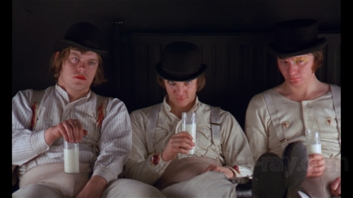 A Clockwork Orange (1971, directed by Stanley Kubrick)