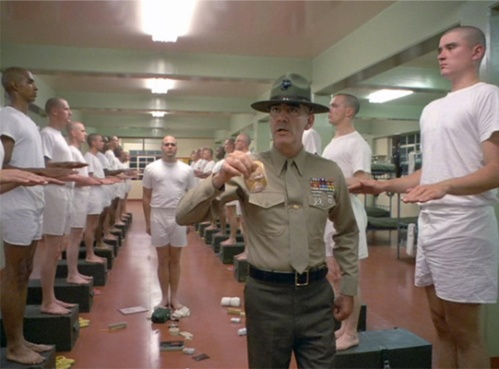 Full Metal Jacket (1987, directed by Stanley Kubrick)