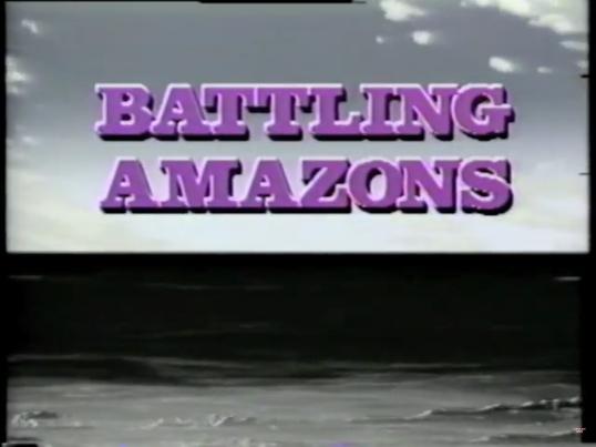 Battling Amazons Title Screen