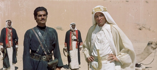 Lawrence of Arabia (dir. by David Lean)