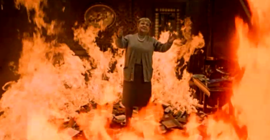 Fahrenheit 451 (1966, directed by Francois Truffaut)