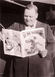 "The host of the 4th Annual Academy Awards, Roscoe ""Fatty"" Arbuckle"