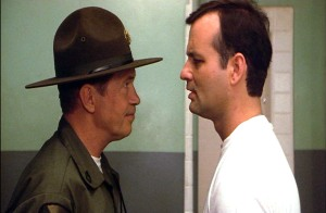 Warren Oates and Bill Murray