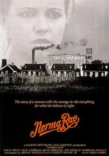 a person review of the movie norma rae Free essay: film review- norma rae, erin brockovich, silkwood in today's society, business ethics and morals play a crucial role in corporations over the.