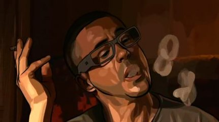 A Scanner Darkly (2006, directed by Richard Linklater)