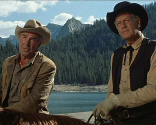 Randolph Scott and Joel McCrea in Ride The High Country