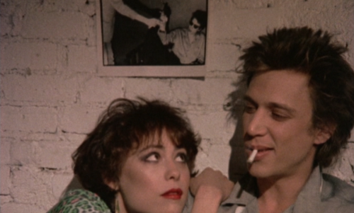Susan Berman and Richard Hell