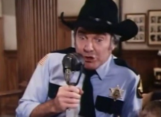 James Best (Sheriff Rosco P. Coltrane)