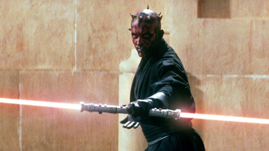 Emphasizing Jar Jar Binks over Darth Maul made as much sense as emphasizing the Ewoks at the expense of Boba Fett.