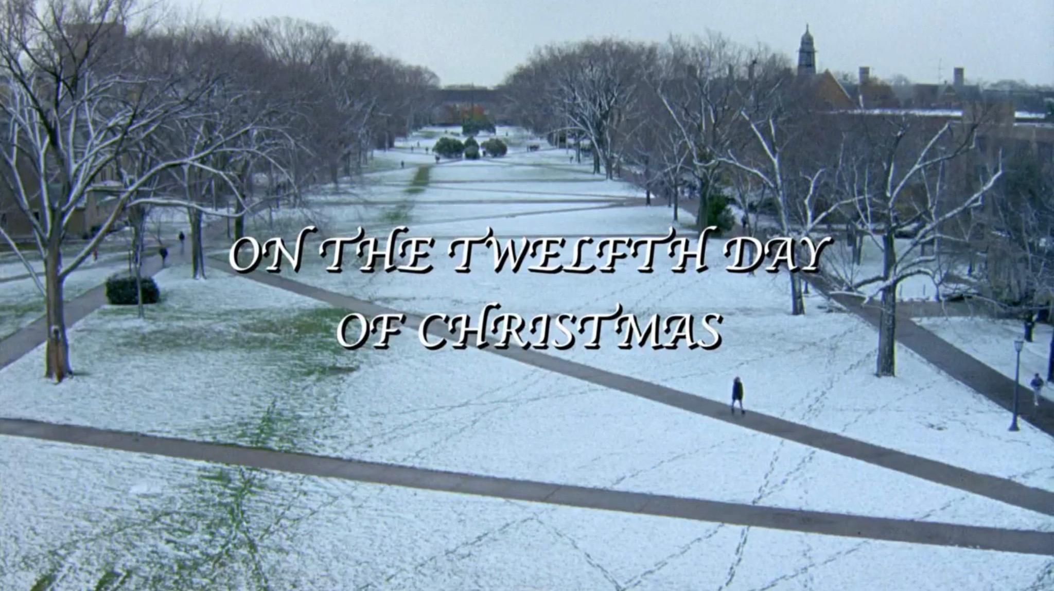 On The Twelfth Day Of Christmas.Hallmark Review On The Twelfth Day Of Christmas 2015 Dir