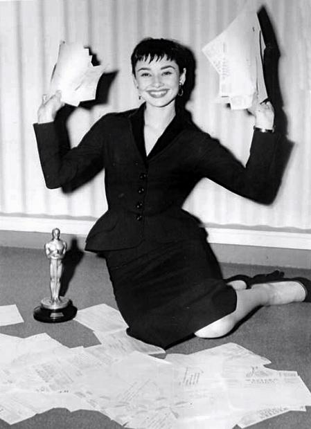 Audrey Hepburn 1954 Roman Holiday