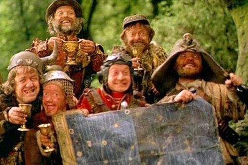 Time Bandits (1981, directed by Terry Gilliam)