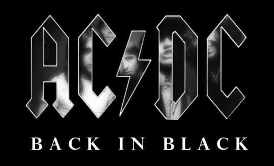 ACDC Black In Black