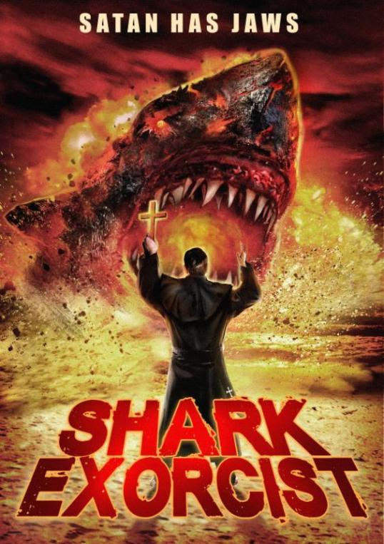 shark exorsist movie poster