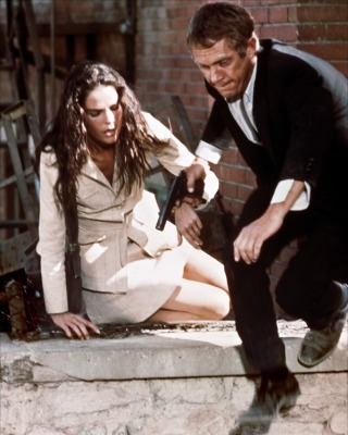 Steve McQueen in The Getaway