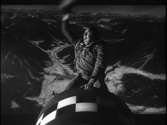 Dr. Strangelove or: How I Learned to Stop Worrying and Love the Bomb (1964, dir. Stanley Kubrick)